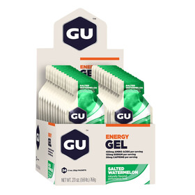 GU Energy Energy Gel Box Salted Watermelon 24x 32g